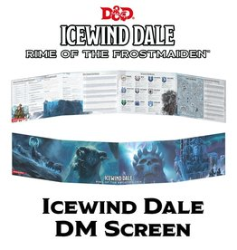Gale Force Nine D&D 5th ed. DM Screen Icewind Dale Rime of the Frostmaiden