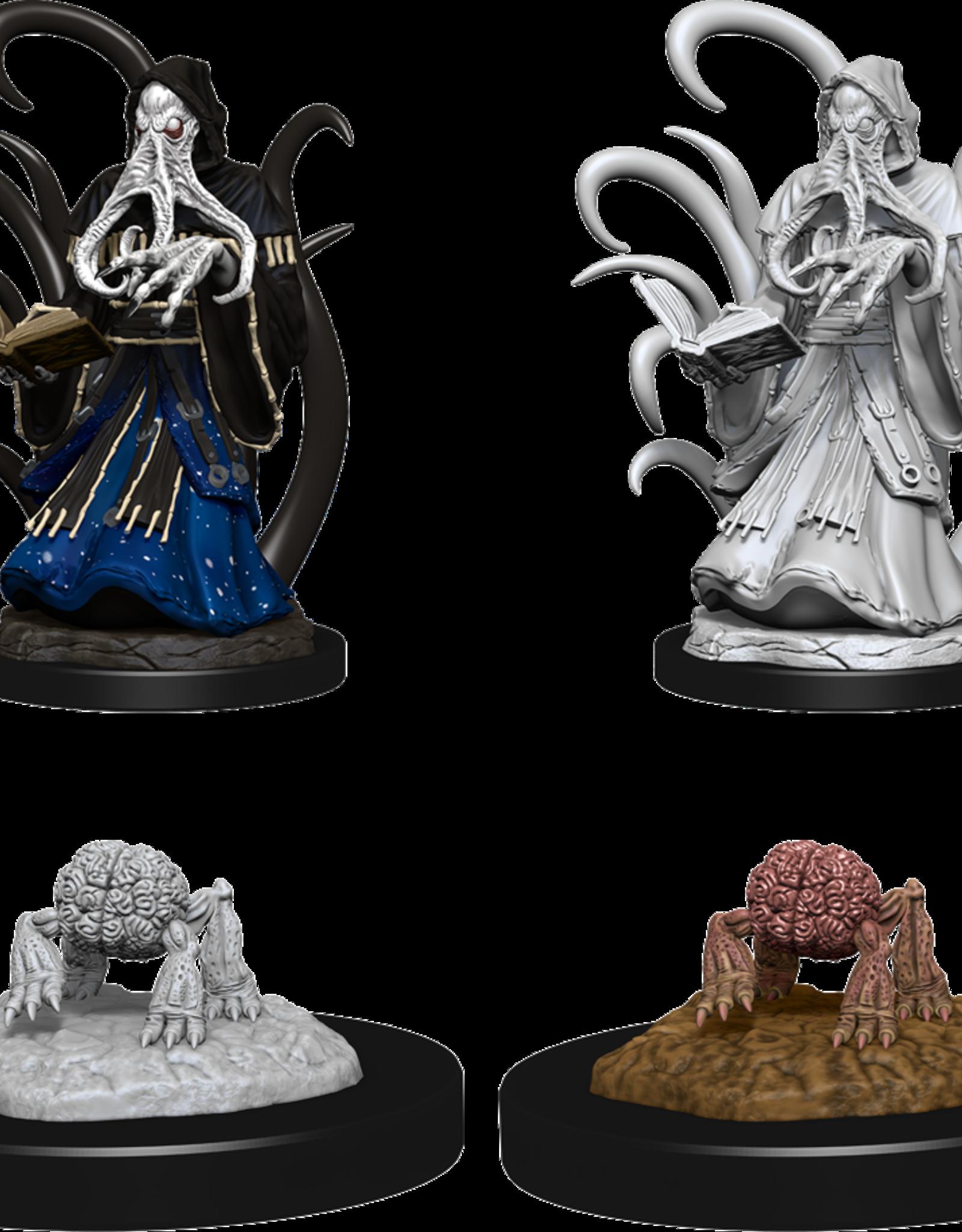 Wizkids D&D Nolzur's Marvelous Miniatures Alhoon and Intellect Devourers