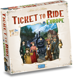 Days of Wonder Pre-order Ticket to Ride Europe: 15th Anniversary Edition (NL)