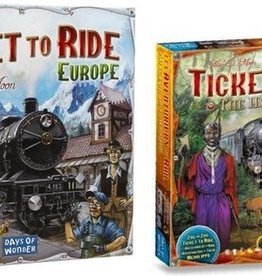 Days of Wonder Ticket to Ride Combi-Deal: basisspel Europe (NL) en Africa