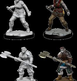 Wizkids D&D Nolzur's Marvelous Miniatures Orc Barbarian