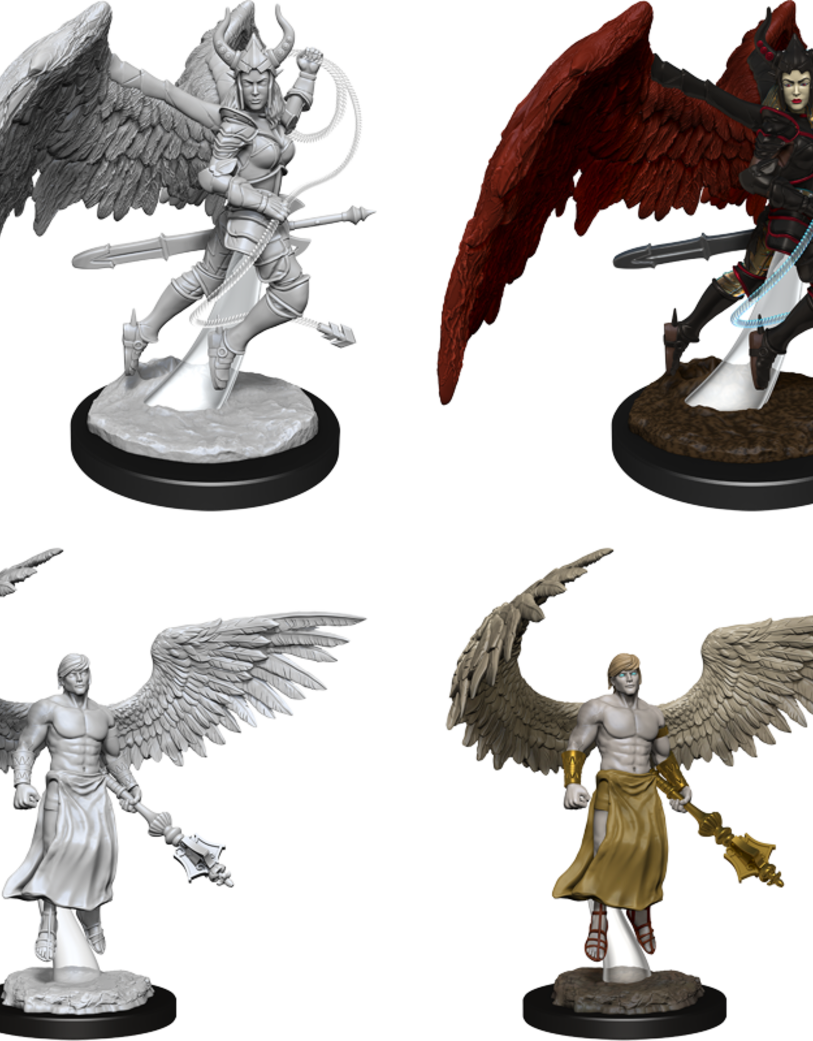 Wizkids D&D Nolzur's Marvelous Miniatures Deva and Erinyes