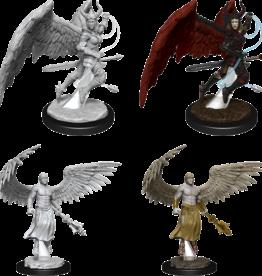 Wizkids D&D Nolzur's Marvelous Miniatures Deva and Erinyes
