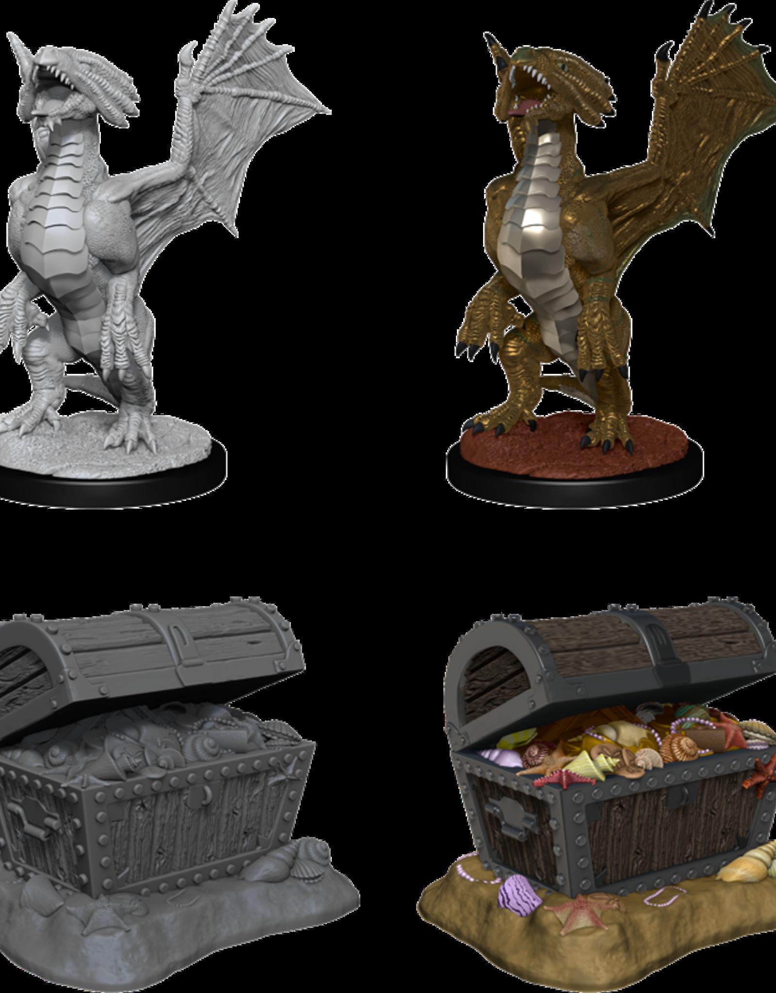 Wizkids D&D Nolzur's Marvelous Miniatures Bronze Dragon Wyrmling
