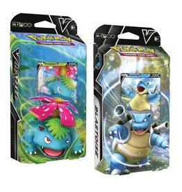 Pokemon USA Pokemon V Battle Deck Blastoise of Venusaur