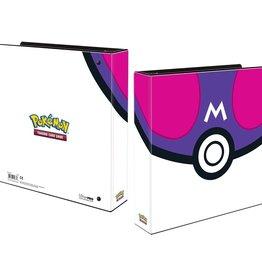 "Ultra Pro 2"" Album Pokemon Master Ball"