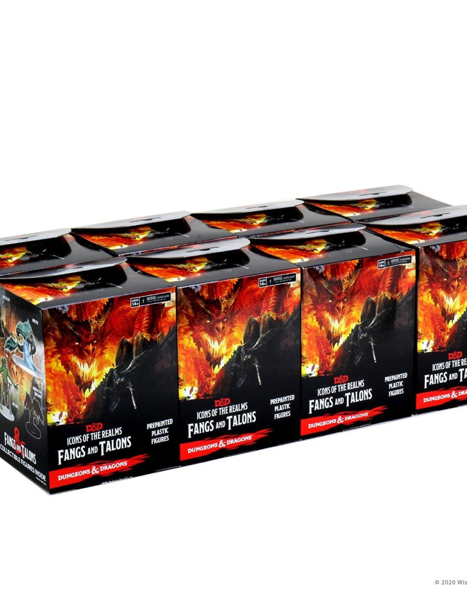 Wizkids D&D Icons of the Realms Fangs and Talons Brick (8)