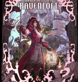 Wizards of the Coast D&D 5th ed. Van Richten's Guide to Ravenloft Ltd Edition