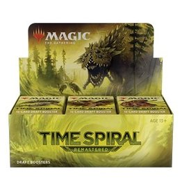 Wizards of the Coast MtG Time Spiral Remastered Draft Booster Box (36) Pre-order