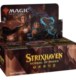Wizards of the Coast MtG Strixhaven: School of Mages Draft Booster Box