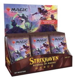 Wizards of the Coast MtG Strixhaven: School of Mages Set Booster Box