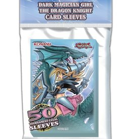 Konami Yu-Gi-Oh Dark Magician Girl the Dragon Knight Sleeves (50)