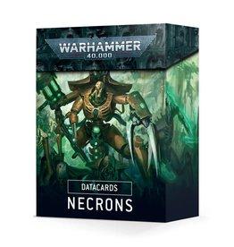 Games Workshop Datacards Necrons