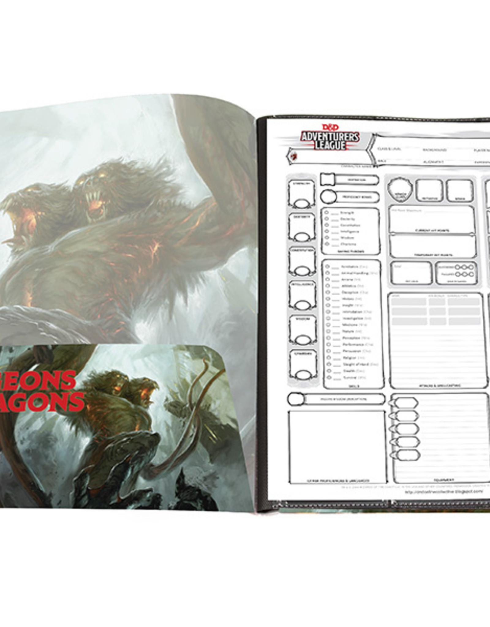 Ultra Pro D&D 5th ed. Character Folio - Demogorgon