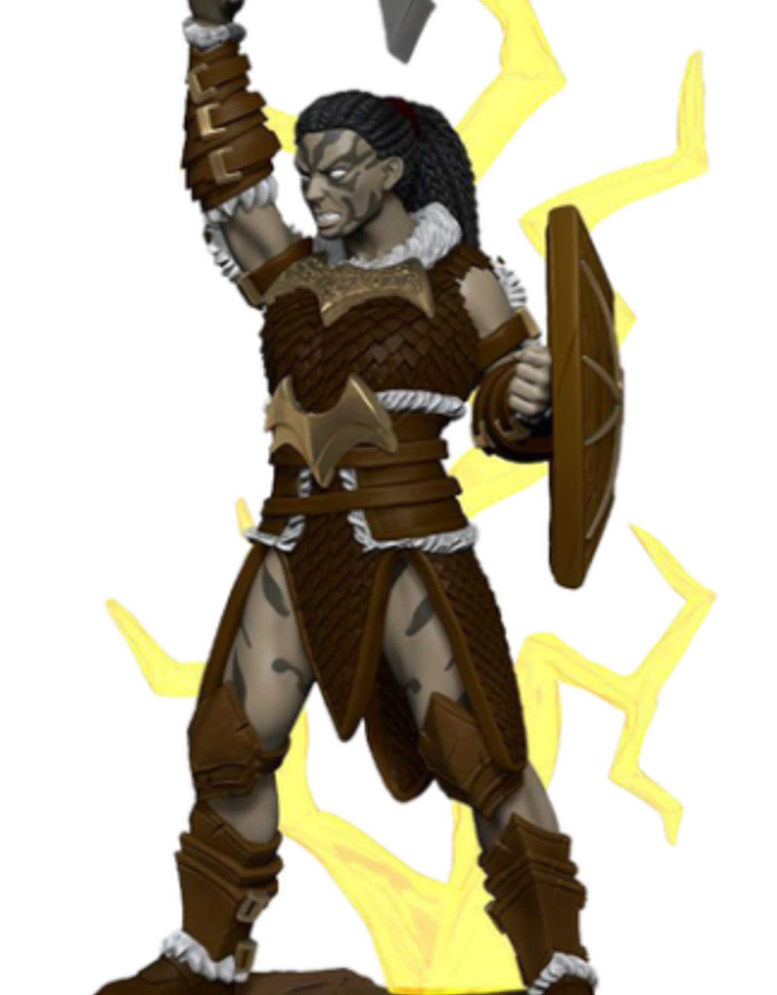 Wizkids D&D Icons of the Realms Goliath Barbarian, Female