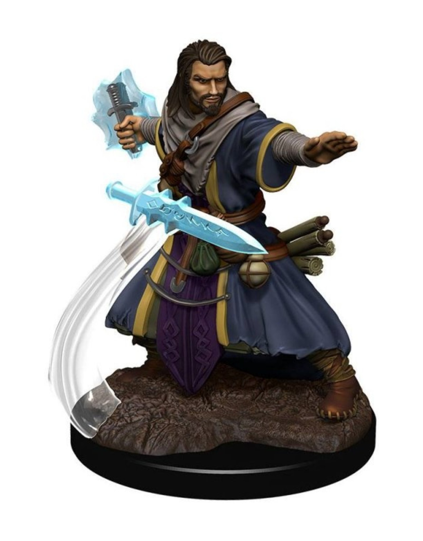 Wizkids D&D Icons of the Realms Human Wizard, Male