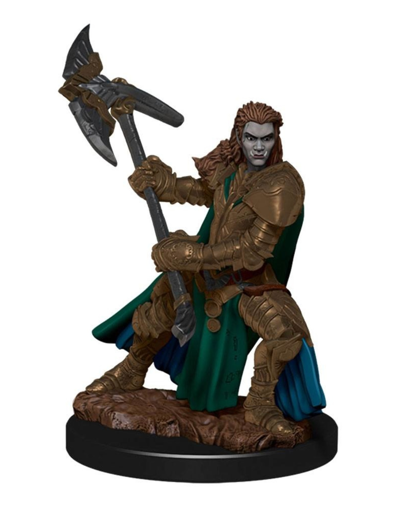 Wizkids D&D Icons of the Realms Half-Orc Fighter, Female