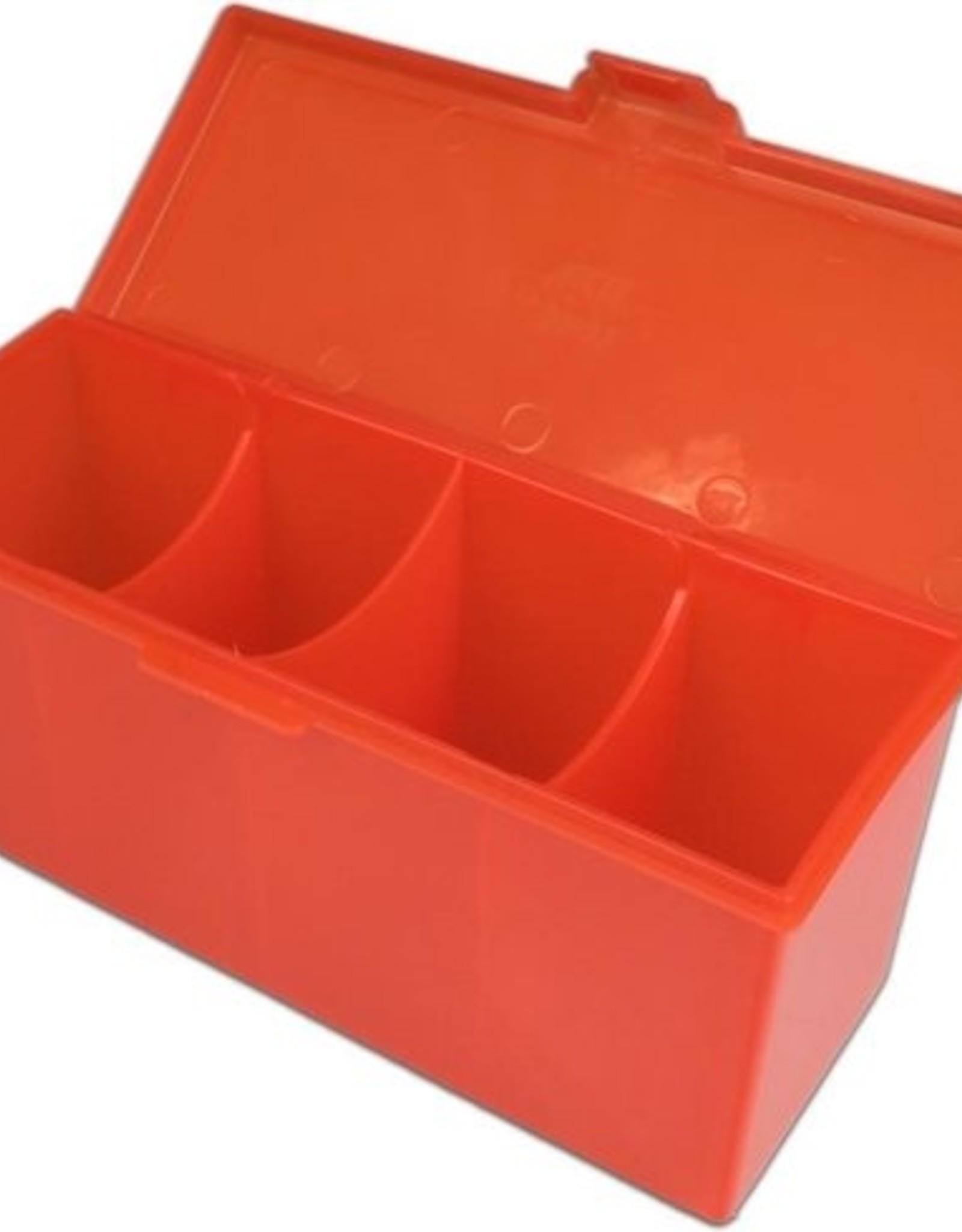 ADC Blackfire Blackfire 4-Compartment Storage Box Red