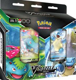 Pokemon USA POK V Battle Deck Bundle Venusaur/Blastoise