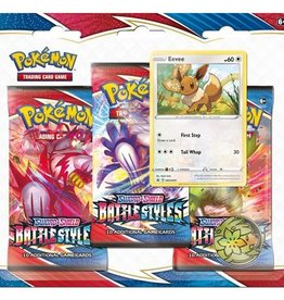 Pokemon USA POK S&S Battle Styles 3 Booster Blister