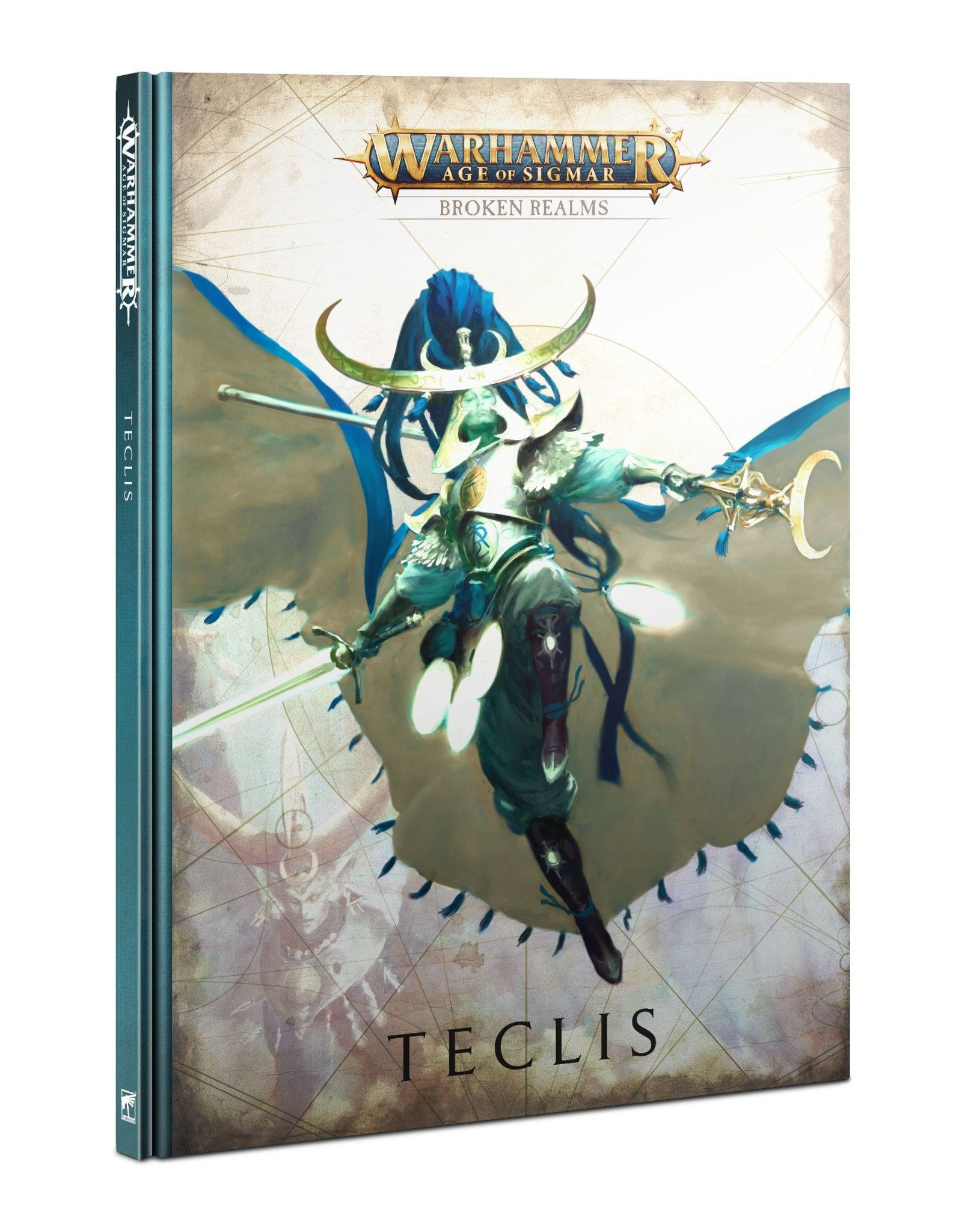 Games Workshop Age of Sigmar Broken Realms: Teclis (EN)