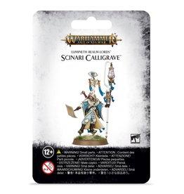 Games Workshop Lumineth Realm-Lords Scinari Calligrave