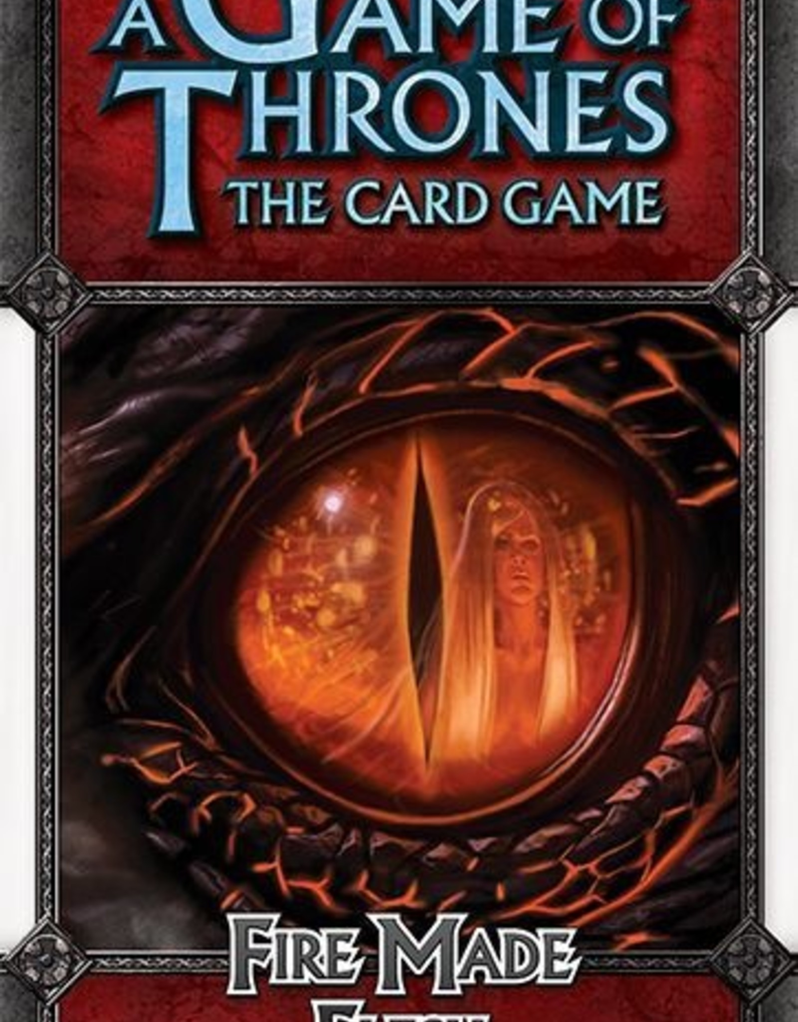 Fantasy Flight Games A Game of Thrones LCG: Fire Made Flesh Chapter Pack