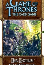 Fantasy Flight Games A Game of Thrones LCG: Epic Battles Chapter Pack