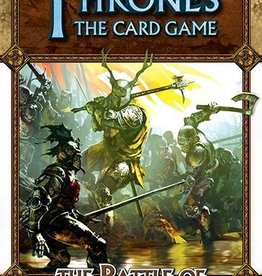 Fantasy Flight Games A Game of Thrones LCG:  Battle of Ruby Ford Revised Chapter Pack
