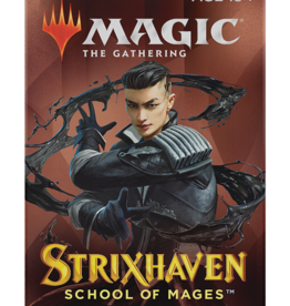 Wizards of the Coast MtG Strixhaven: School of Mages Draft Booster
