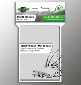 ADC Blackfire Blackfire Sleeves Standard Glossy Front Matte Back Clear (50) (66x91mm)