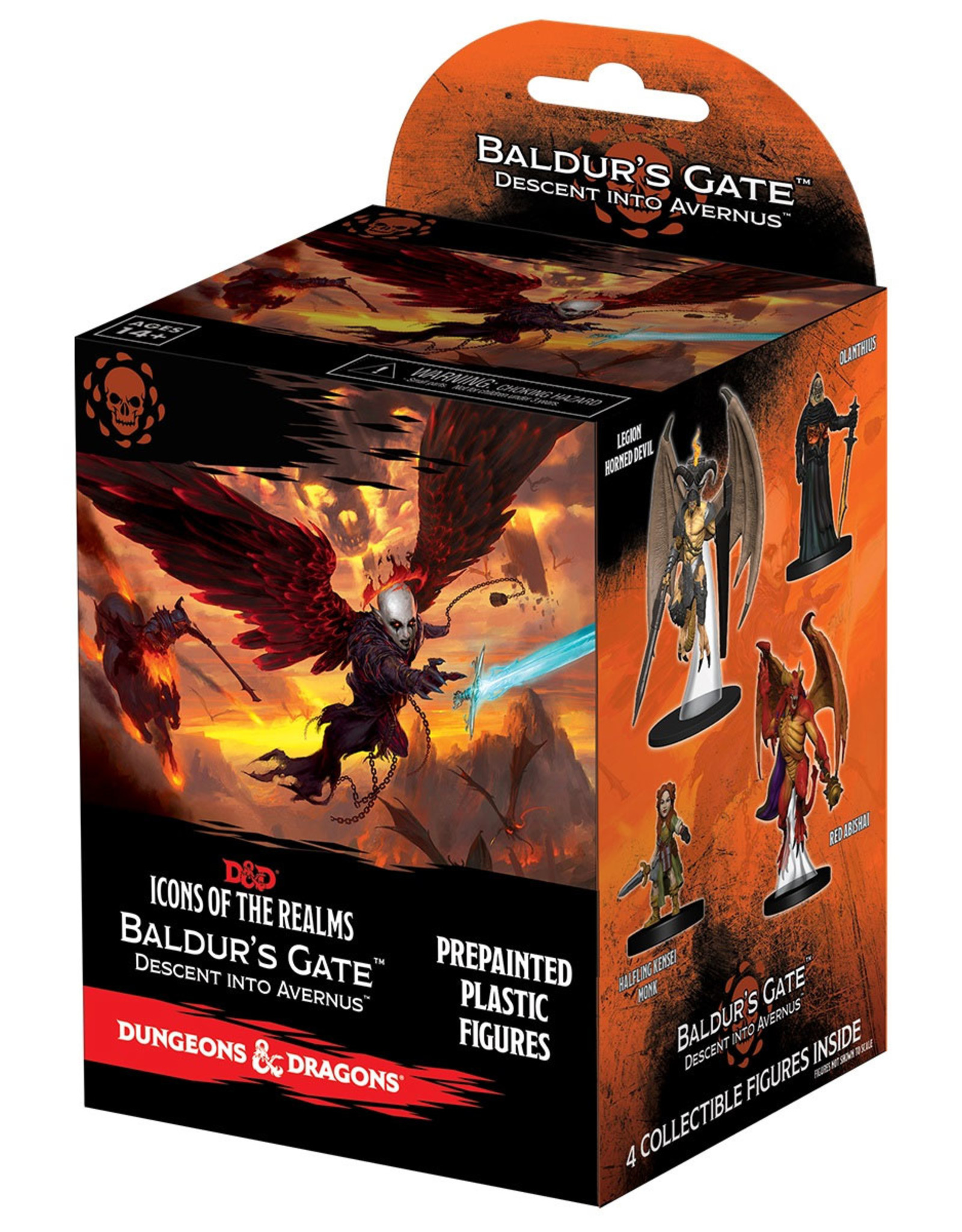 Wizkids D&D Icons of the Realms Descent into Avernus Booster