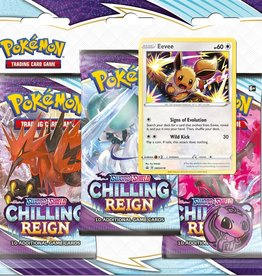 Pokemon USA POK S&S Chilling Reign 3 Booster Blister