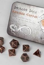 ADC Blackfire Blackfire Metal RPG Dice Set Antique Copper