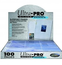 Ultra Pro Hologram Pages Silver (100)