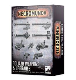 Games Workshop Necromunda: Goliath Weapons & Upgrades