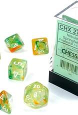 Chessex Chessex 7-Die set Nebula Luminary - Spring/White