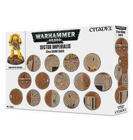 Games Workshop Sector Imperialis: 32mm round Bases