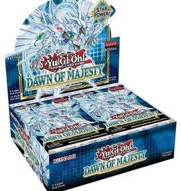 Konami Yu-Gi-Oh Dawn of Majesty Booster Box Pre-order