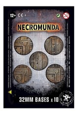 Games Workshop Necromunda 32mm Bases (10)
