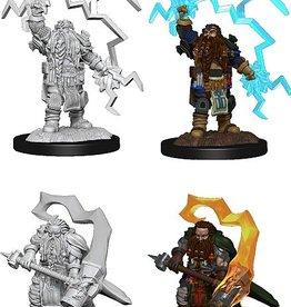 Wizkids D&D Nolzur's Marvelous Miniatures Dwarf Cleric Male 3