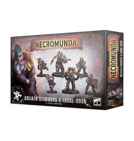 Games Workshop Necromunda Goliath Stimmers and Forge-Born