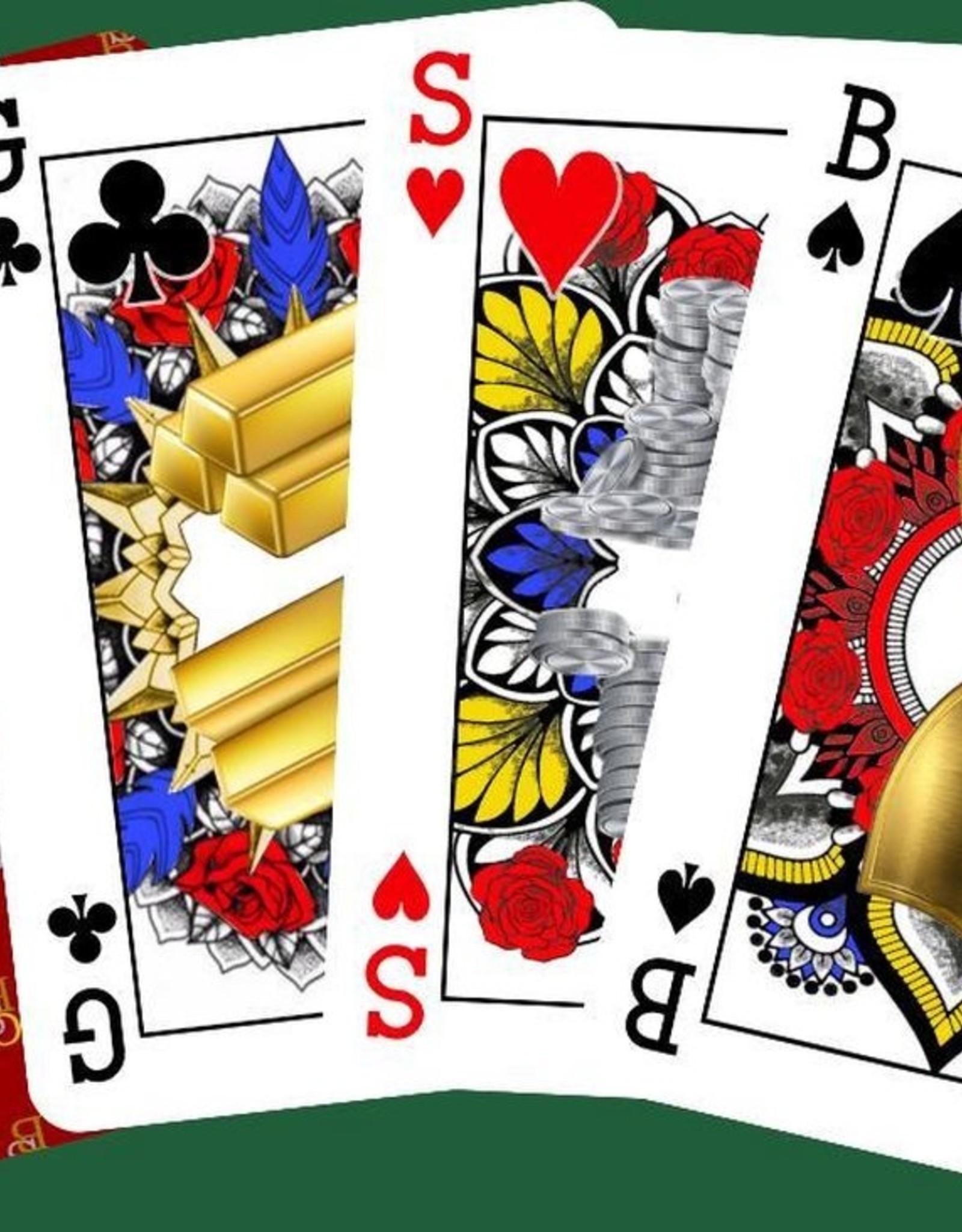GSB Playing Cards GSB Gender- en Rasneutrale Speelkaarten (Rood)