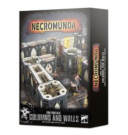 Games Workshop Necromunda Zone Mortalis Columns and Walls