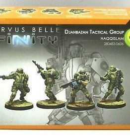 Corvus Belli Haqqislam Djanbazan Tactical Group