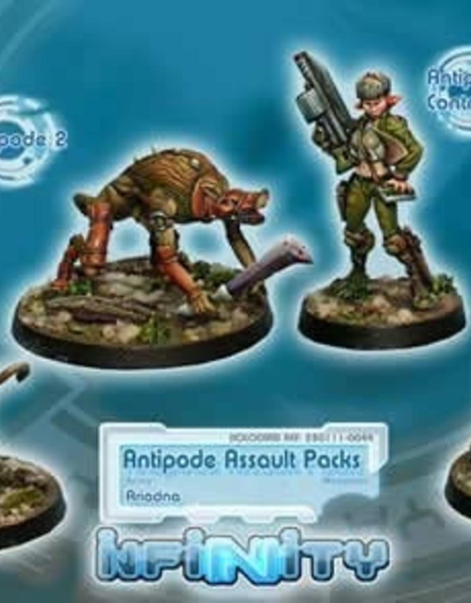 Corvus Belli Antipode Assault Packs (Contr, 3 Antipodes)