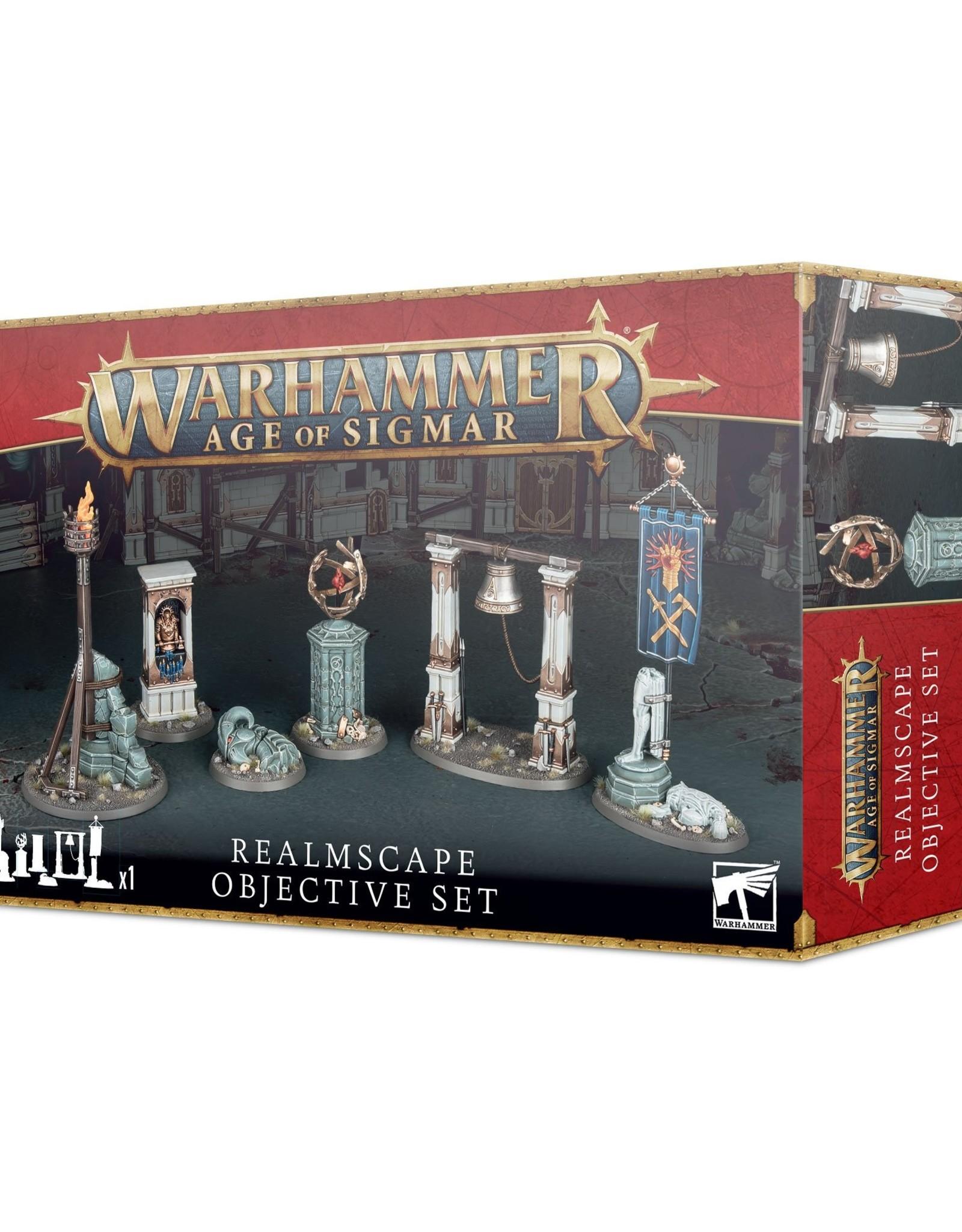 Games Workshop Age of Sigmar Realmscape: Objective Set