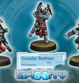 Corvus Belli Crusader Brethren (HMG)