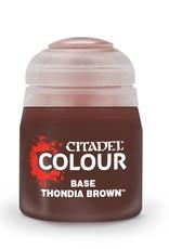 Citadel Citadel Base: Thondia Brown (12ml)