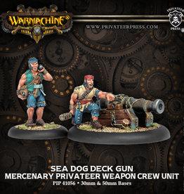 Privateer Press Sea Dog Deck Gun Crew